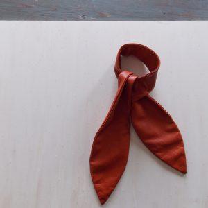 vendredi-foulard-cuir-atelier-bison-paris