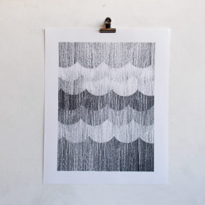 vendredi-anna-becker-noir-blanc-poster