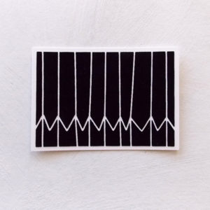 vendredi-frjor-postcard-black-white
